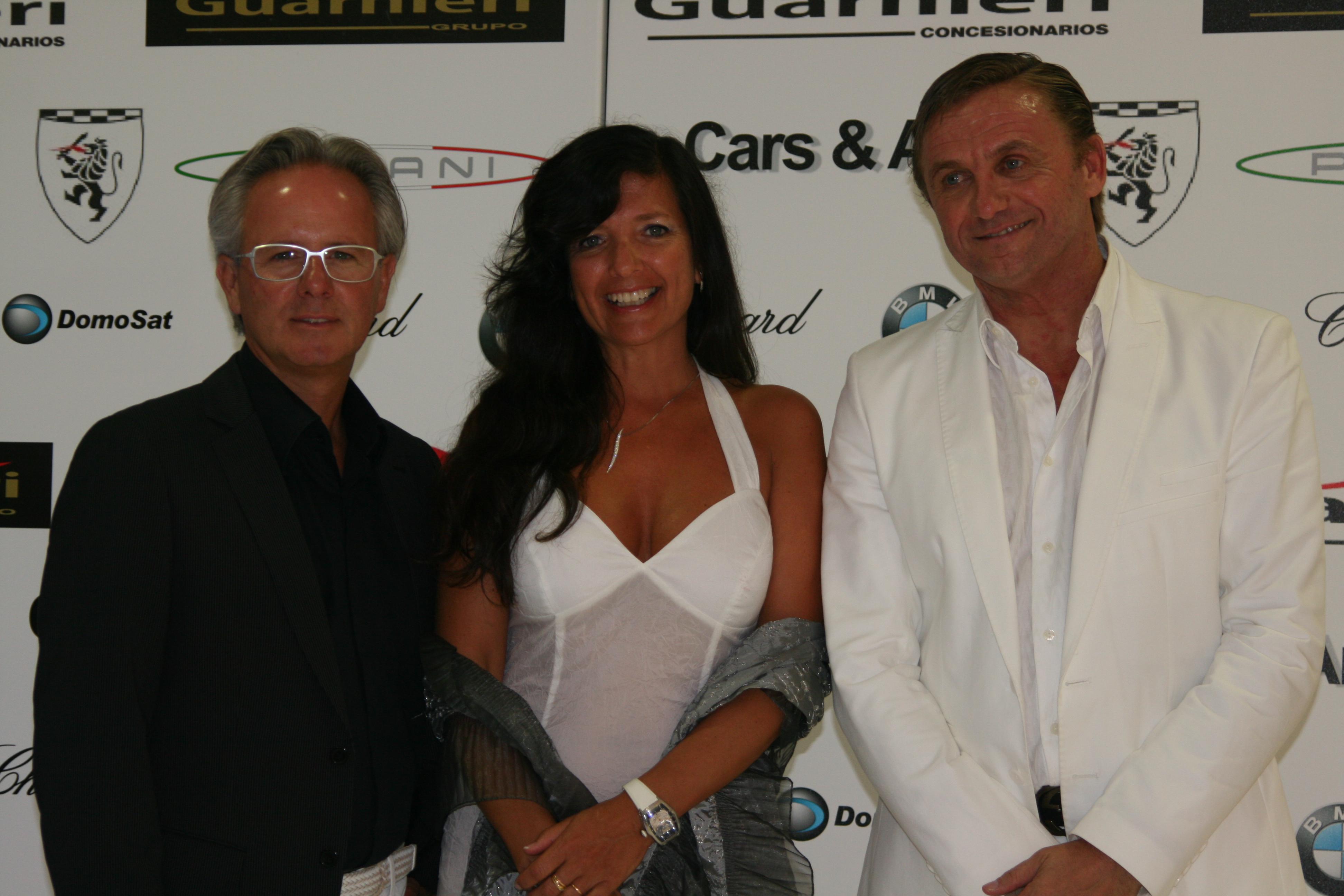 Horacio Pagani y Mario Guarnieri